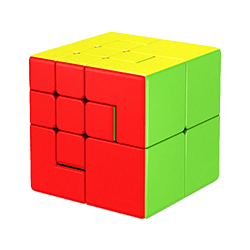 Rubik's Cube Puppet Two