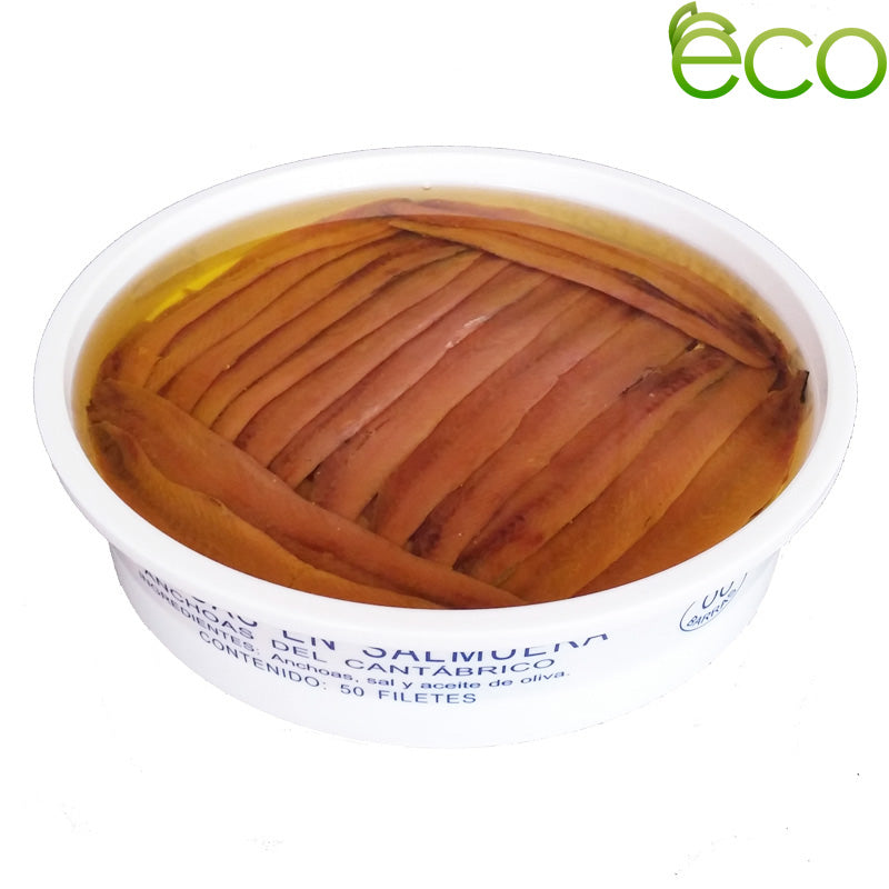 ANCHOIS DE LA SÉRIE CANTABRIAN GOLD EXTRA GRAND (00) FILETS 25/50