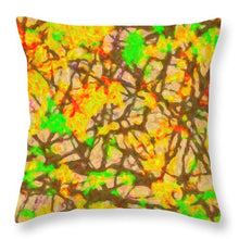 Load image into Gallery viewer, Autumn Abstract - Throw Pillow
