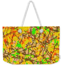 Load image into Gallery viewer, Autumn Abstract - Weekender Tote Bag