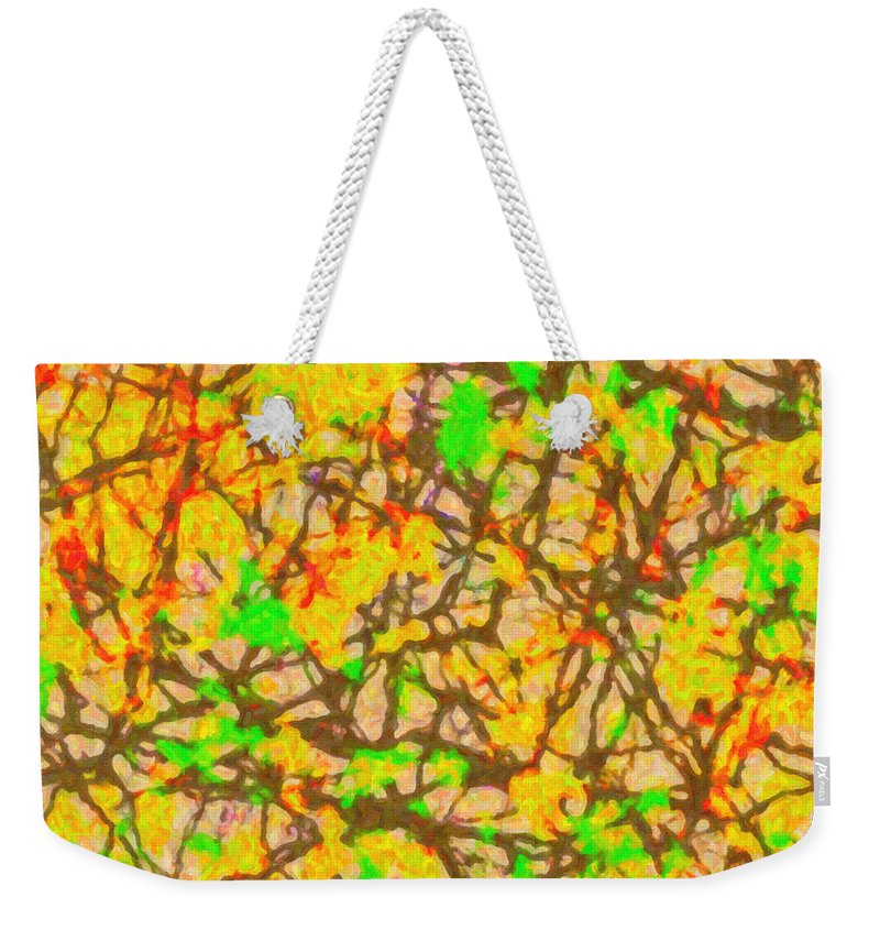 Autumn Abstract - Weekender Tote Bag