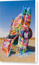 Load image into Gallery viewer, Cadillac Ranch Caddy - Canvas Print