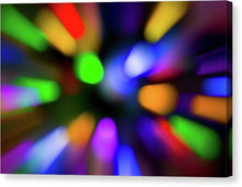 Load image into Gallery viewer, Christmas Tree Bokeh Zoom - Canvas Print