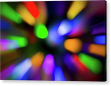 Load image into Gallery viewer, Christmas Tree Bokeh Zoom - Acrylic Print