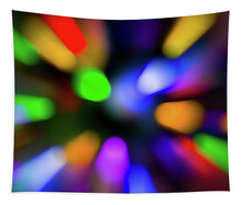 Load image into Gallery viewer, Christmas Tree Bokeh Zoom - Tapestry