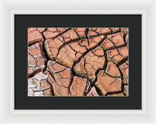 Load image into Gallery viewer, Dry River Bed - Framed Print