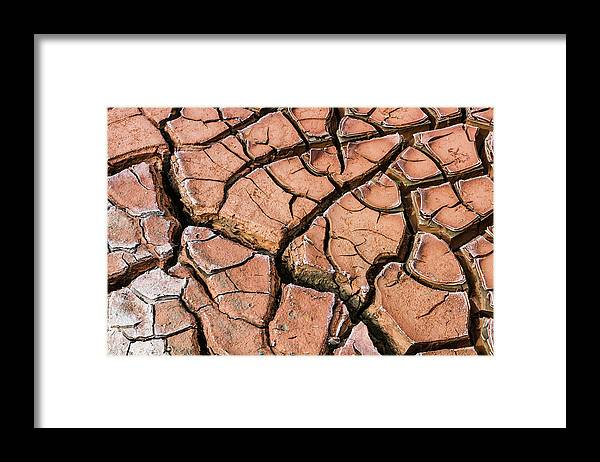Dry River Bed - Framed Print