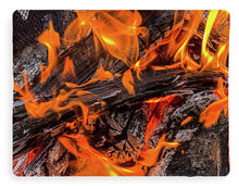 Load image into Gallery viewer, Fire Pit Flames - Blanket