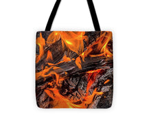 Load image into Gallery viewer, Fire Pit Flames - Tote Bag