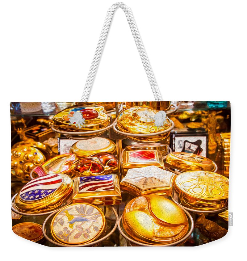 Golden Compacts - Weekender Tote Bag