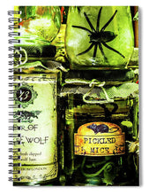 Load image into Gallery viewer, Halloween Potions - Spiral Notebook