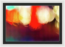 Load image into Gallery viewer, Holiday Lights Abstract Bokeh - Framed Print