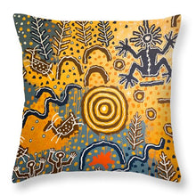 Load image into Gallery viewer, Maidu Creation Story - Throw Pillow