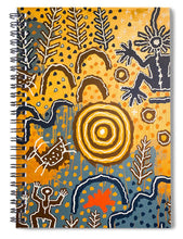 Load image into Gallery viewer, Maidu Creation Story - Spiral Notebook