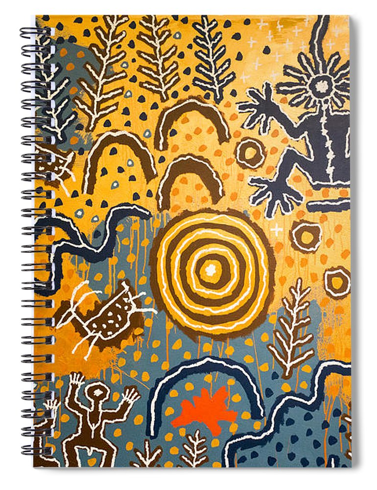 Maidu Creation Story - Spiral Notebook