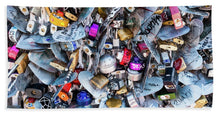 Load image into Gallery viewer, Many Padlocks - Bath Towel
