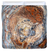 Load image into Gallery viewer, Petrified Wood - Duvet Cover