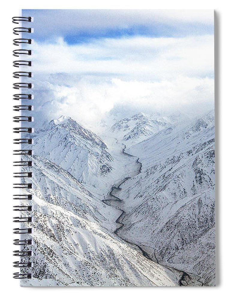 Salang Pass - Spiral Notebook