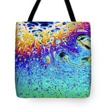 Load image into Gallery viewer, Soap Bubble End of Life Cycle - Tote Bag