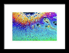 Load image into Gallery viewer, Soap Bubble End of Life Cycle - Framed Print