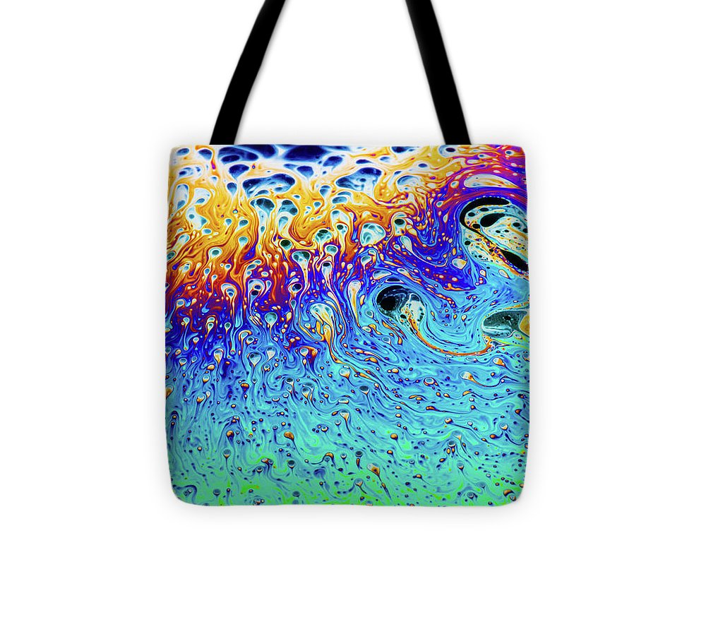 Soap Bubble End of Life Cycle - Tote Bag
