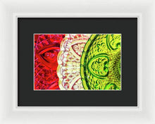 Load image into Gallery viewer, Three Glass Plates - Framed Print