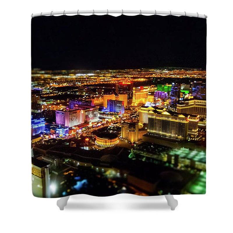 Vegas Nights - Shower Curtain