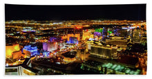 Load image into Gallery viewer, Vegas Nights - Beach Towel