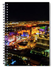 Load image into Gallery viewer, Vegas Nights - Spiral Notebook