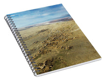 Load image into Gallery viewer, Village Toward Amu Darya River - Spiral Notebook