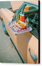 Load image into Gallery viewer, Vintage Auto and Window Tray - Canvas Print