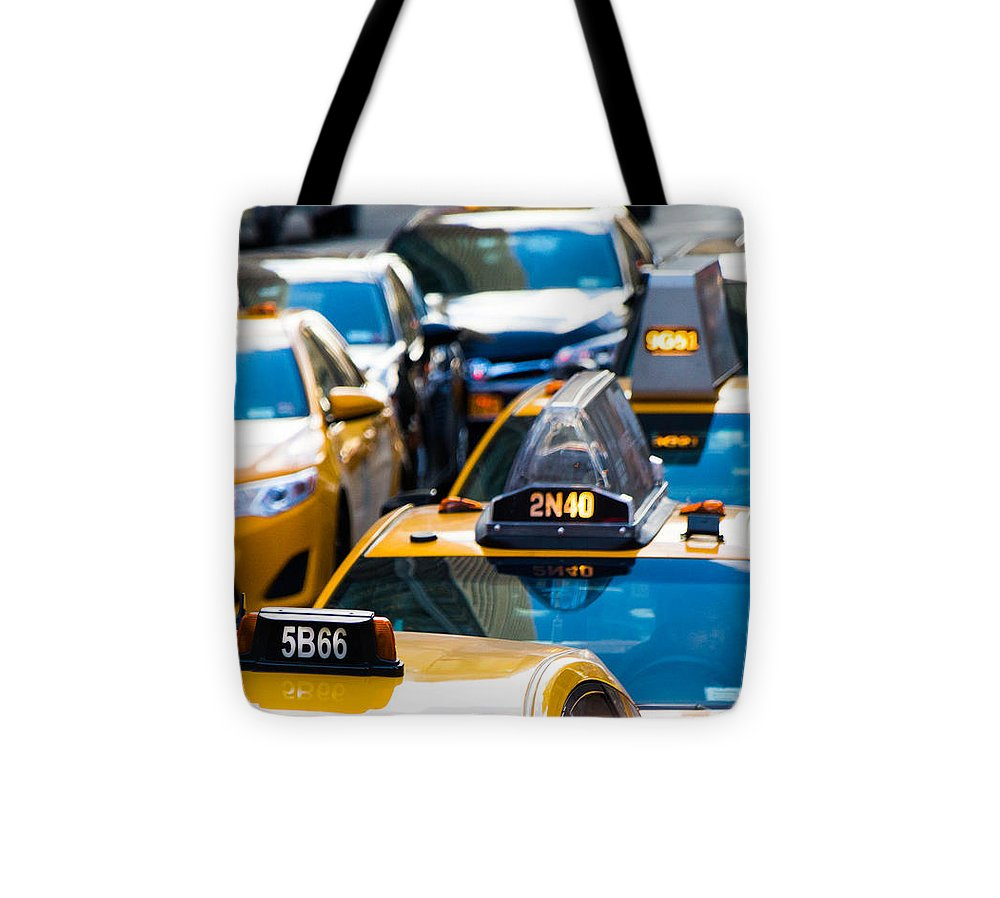 Yellow Taxis - Tote Bag