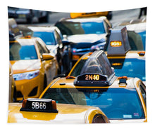 Load image into Gallery viewer, Yellow Taxis - Tapestry