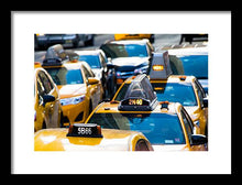 Load image into Gallery viewer, Yellow Taxis - Framed Print