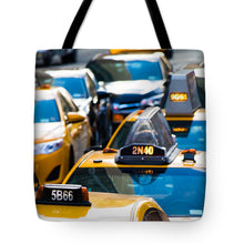 Load image into Gallery viewer, Yellow Taxis - Tote Bag