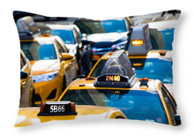 Load image into Gallery viewer, Yellow Taxis - Throw Pillow