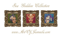 Load image into Gallery viewer, Sea Goddess Collection | Mini Framed Prints | Art of Jameela