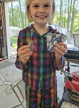 A girl and her create-a-craft kit project