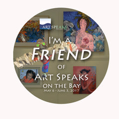 Friend of Art Speaks Donation/Button