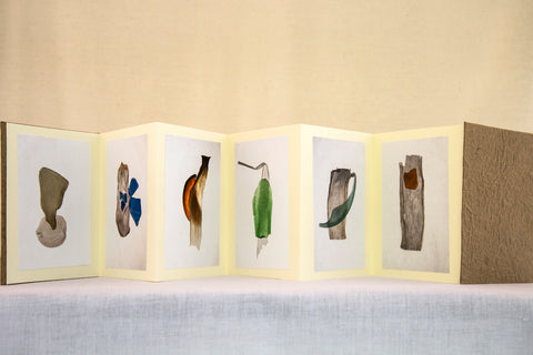 Sue Maida - Sea Glass Accordion Book