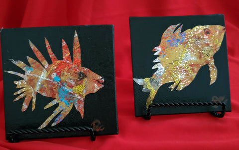 Jacquie Colligan- Pair Exotic Fish Series