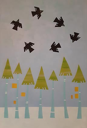 Karen Siegrist - Crows in the Pines