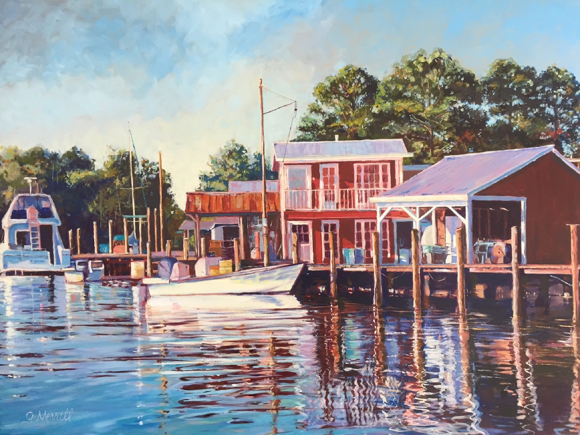Gayle Merrill - Marina at Davis Creek
