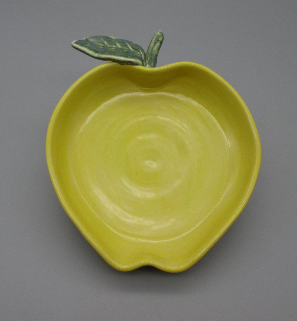 Julia Dorsey-Large Golden Apple Dish