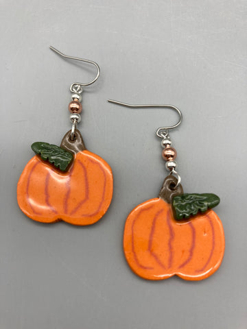 Julia Dorsey- Pumpkin Earrings