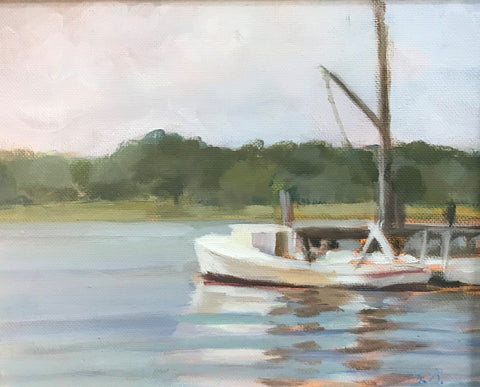 Susan Bradbury- East River Oyster Boat