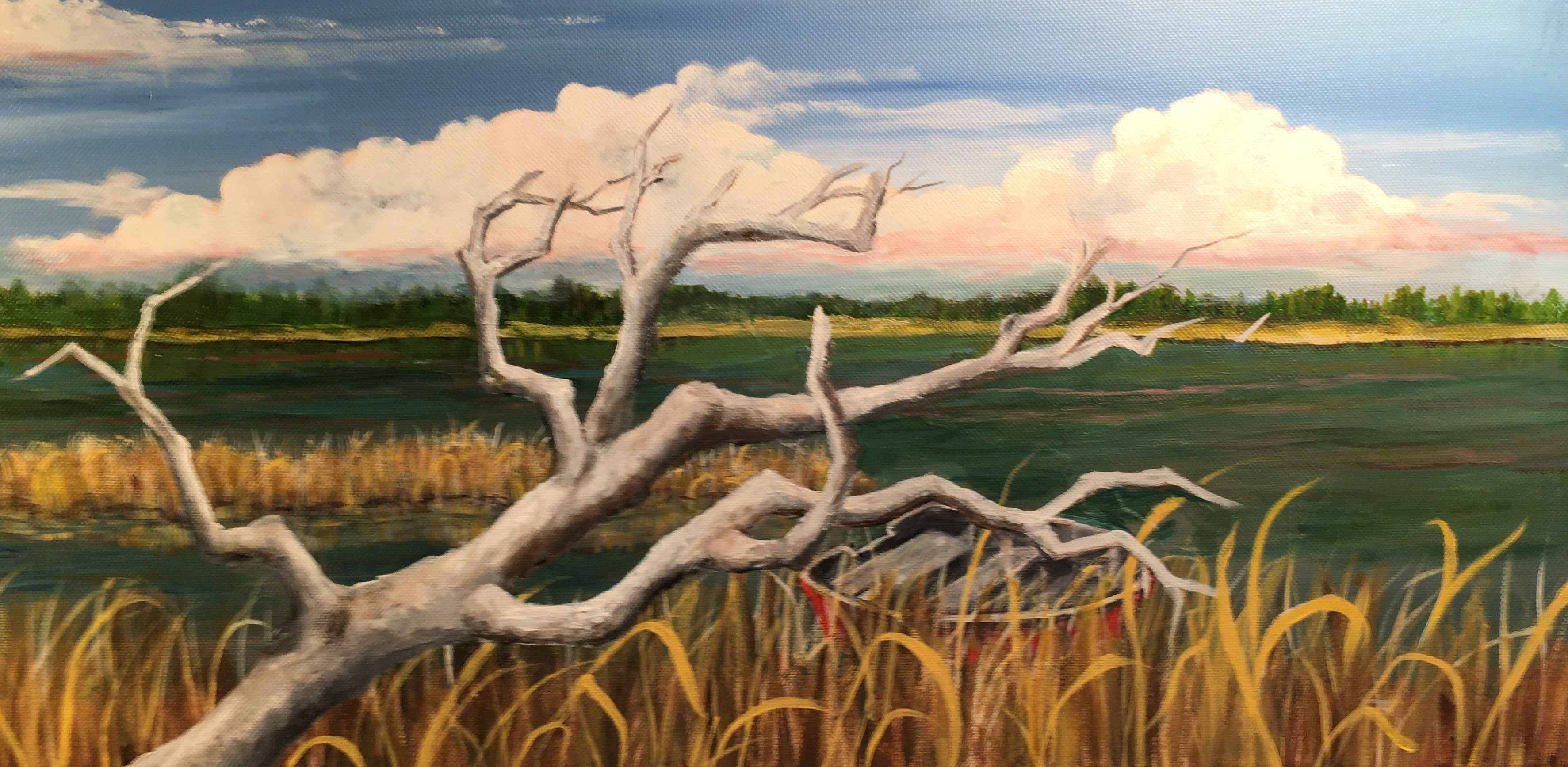 Maurine Frank- Up Blackwater Creek