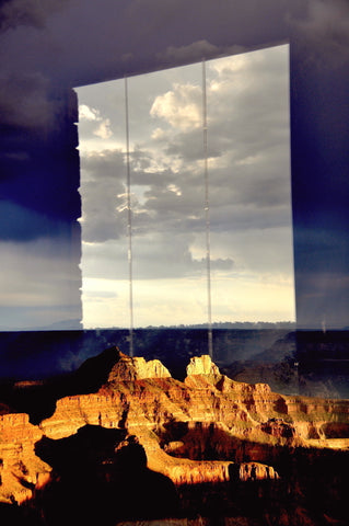 Davida Hall-Reflection on the Grand Canyon Photo