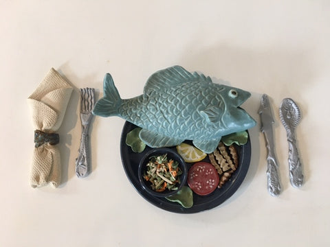 Sue Henshaw-Blue Plate Special Set