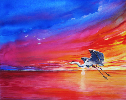 Kathleen Noffsinger - Into the Dawn Giclee
